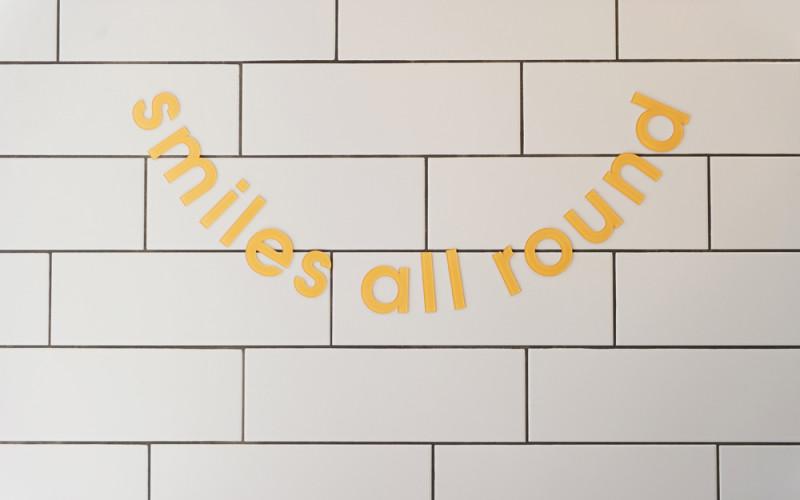 Smiles at eliane