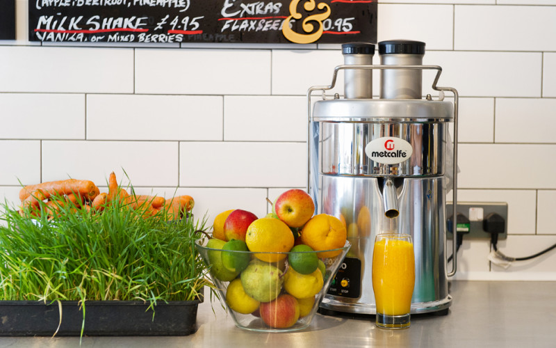 Fresh juice at eliane
